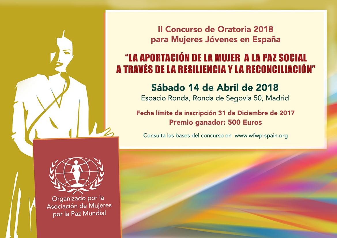 II Concurso de Oratoria para Mujeres Jóvenes en España