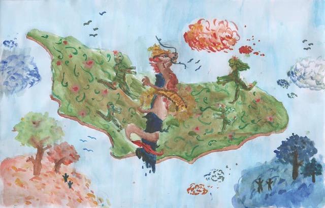 Resultado del Concurso de pintura Colorea de Paz Mi Corazón