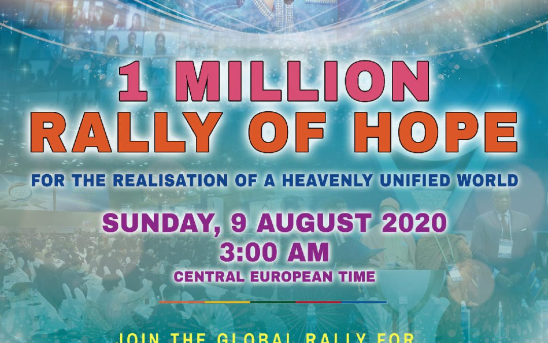 Rally of Hope// Rally de la Paz/Esperanza