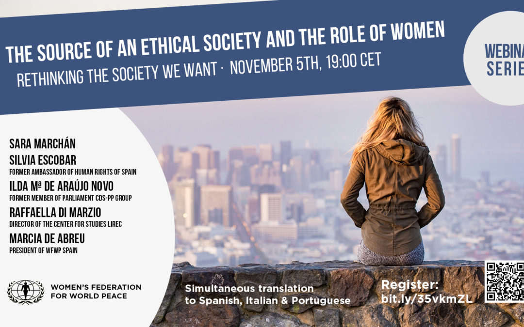 Rethinking the society we want: keys to the establishment of a harmonious society: Session I