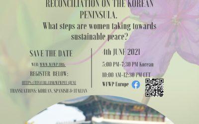 WFWP Europe Conferencia Anual: Co-creando espacios para la paz y la reconciliación en la Península Coreana.