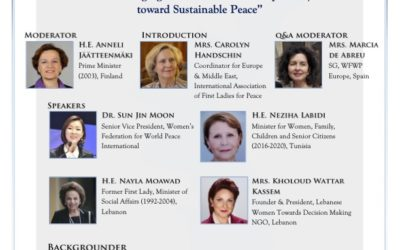 El Poder Emergente de la Diplomacia Femenina hacia una Paz Sostenible